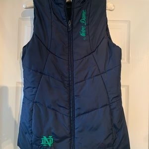 adidas Jackets & Coats - Notre Dame Puffer Vest